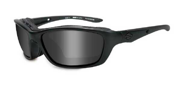 Harley-Davidson Brick Grey Lens w/ Matte Black Frame Sunglasses HD854 - Wisconsin Harley-Davidson