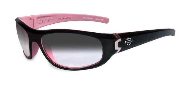 Harley-Davidson Curve LA Grey Lens w/ Cotton Candy Frame Sunglasses HDCUR05 - Wisconsin Harley-Davidson