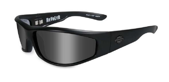 Harley-Davidson Revolvr Grey Lens w/ Matte Black Frame Sunglasses HDREV8 - Wisconsin Harley-Davidson