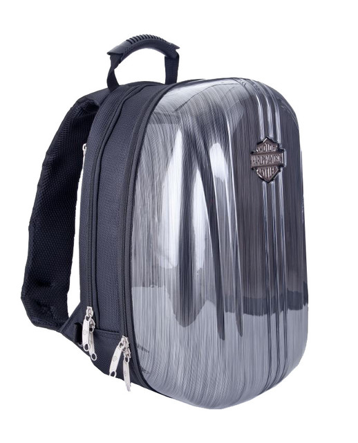 Harley-Davidson Athalon Molded Backpack Steel Gray 16x12x8 99917-SG - Wisconsin Harley-Davidson