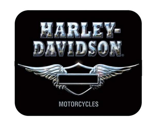 Harley-Davidson Infamous Refection Black Mouse Pad MO121830 - Wisconsin Harley-Davidson