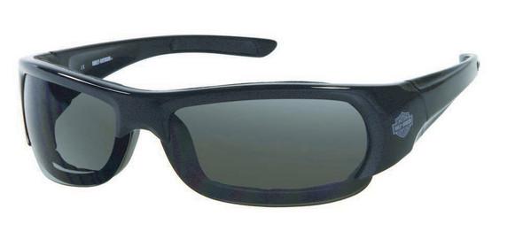 Harley-Davidson Men's Performance Spoiler Sunglasses BLK/Gray Lens HDSZ701BLK-3 - Wisconsin Harley-Davidson