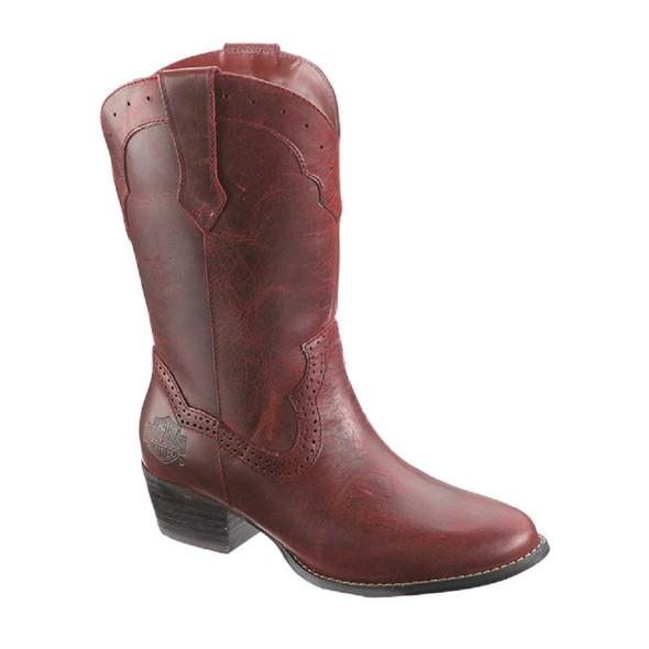 Harley-Davidson Women's Mackena 10-Inch Cajun Cowboy Boots.D83574 - Wisconsin Harley-Davidson