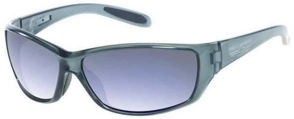 Harley-Davidson Men's Grey Frame w/ Skull & Grey Lens Sunglasses HDS619GRY-3F - Wisconsin Harley-Davidson