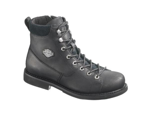 Harley-Davidson Men's Aaron 6-Inch Motorcycle Boots, Side Zip. D93112 - Wisconsin Harley-Davidson