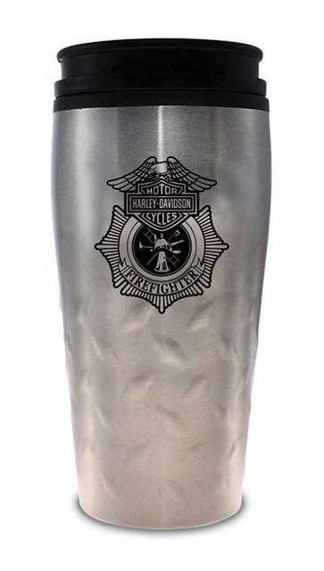 Harley-Davidson Firefighter Original Travel Mug Stainless Steel 12 oz. MG126506 - Wisconsin Harley-Davidson