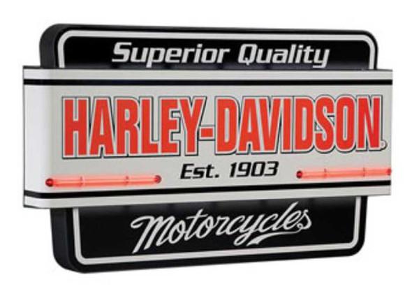Harley-Davidson Superior Quality Motorcycle Neon Sign HDL-15404 - Wisconsin Harley-Davidson