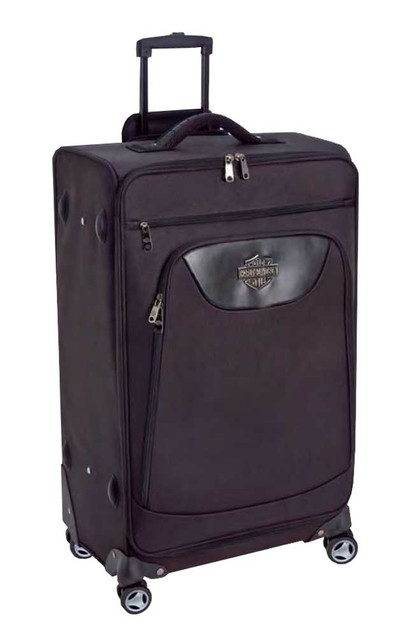 Harley-Davidson 21 in Carry-On Luggage, Midnight Rider II Collection Black 99722 - Wisconsin Harley-Davidson