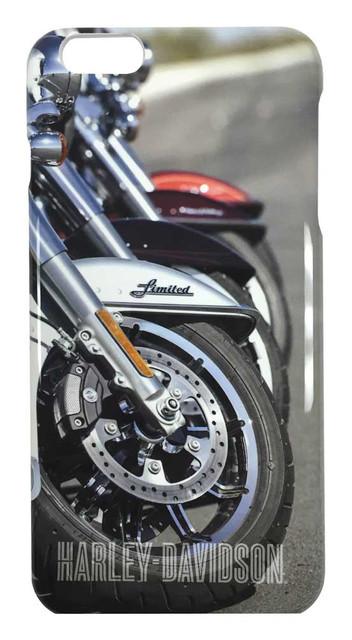 Harley-Davidson Men's iPhone 6 Plus Shell, Motorcycle Tires iPhone Case 07726 - Wisconsin Harley-Davidson