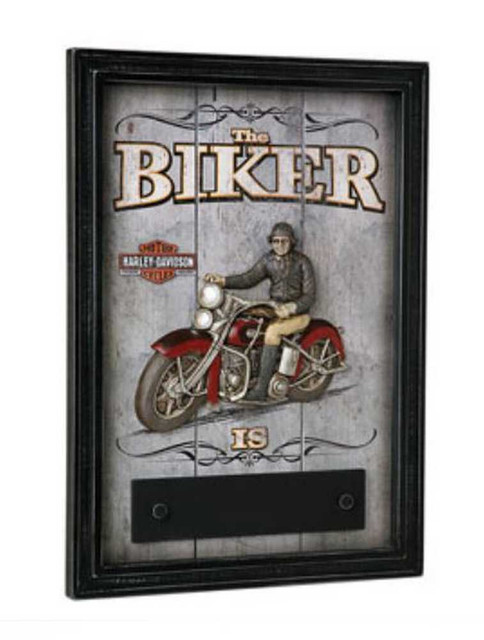 Harley-Davidson Biker In Or Out Pub Sign HDL-15309 - Wisconsin Harley-Davidson