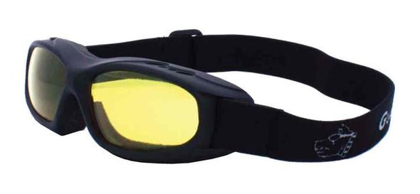 Guard-Dogs Evader I Motorcycle Dry Eye Goggles Golden Lens/Matte Black 054-13-01 - Wisconsin Harley-Davidson