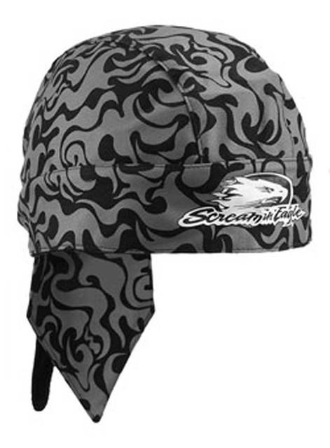 Harley-Davidson Mens Screamin' Eagle Do Rag, Allover Flames Head Wrap HARLMH0261 - Wisconsin Harley-Davidson