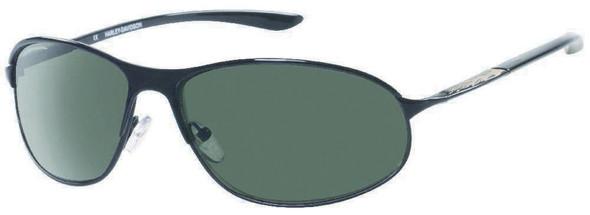 Harley-Davidson Mens Lifestyle Sunglasses Glossy Black, Grey Lens HDS612BLK-2 - Wisconsin Harley-Davidson