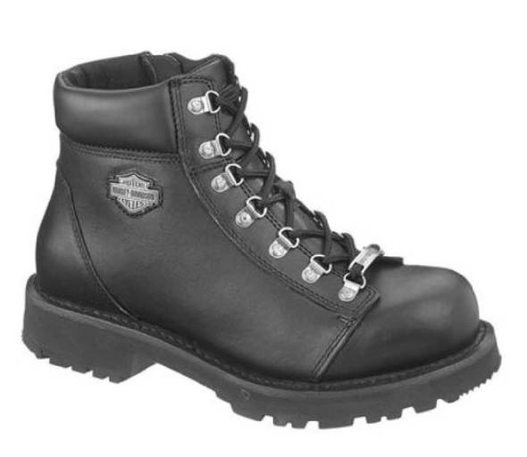 Harley-Davidson Men's Wyoming Black 5.5-Inch Boots, 1.5-Inch Heels D98019 - Wisconsin Harley-Davidson
