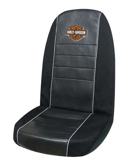 Harley-Davidson Bar & Shield Logo Sideless Sport Seat Cover – Single 6527-05 - Wisconsin Harley-Davidson
