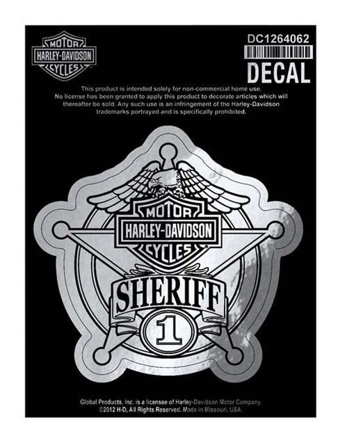 Harley-Davidson Sheriff Original Decal, Small Size Sticker DC1264062 - Wisconsin Harley-Davidson