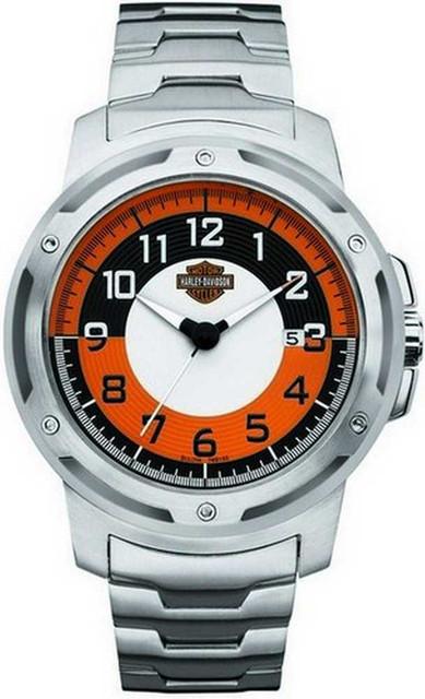Harley-Davidson Men's Bulova Bracelet Wrist Watch. 76B152 - Wisconsin Harley-Davidson