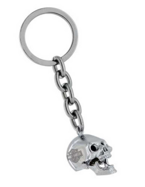 Harley-Davidson 3D Skull Key Chain With Moving Jaw HDK191 - Wisconsin Harley-Davidson