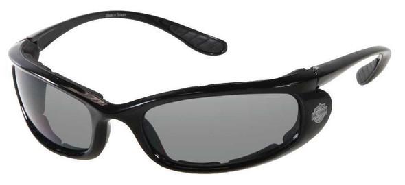 Harley-Davidson Men's Black Comfort Fit Performance Sunglasses HDS802BLK-3 - Wisconsin Harley-Davidson