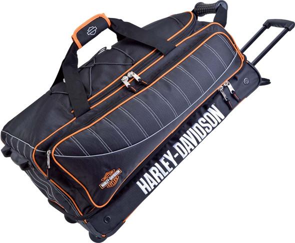 Harley-Davidson 29'' Black Carry-On Tank Duffel, Backpack straps 99429 - Wisconsin Harley-Davidson