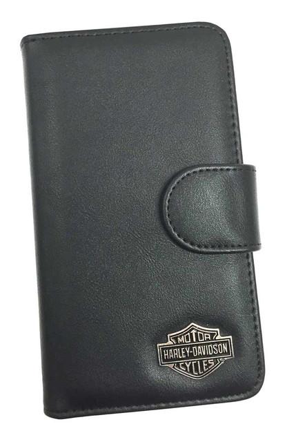 Harley-Davidson Universal Phone Case XL Folio, Bar & Shield Emblem, Black 07753 - Wisconsin Harley-Davidson