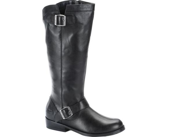 Harley-Davidson Women's Kerrie 14-Inch Black or Dark Brown Boots D83671 D83672 - Wisconsin Harley-Davidson