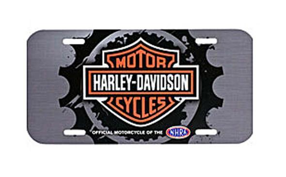 Harley-Davidson Screamin' Eagle Gear Head License Plate HARLNV007700 - Wisconsin Harley-Davidson