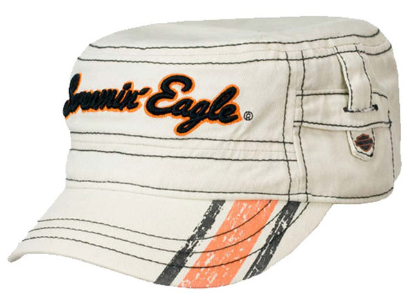 Harley-Davidson Screamin' Eagle Women's Shorty Cadet Off White Cap HARLLH0026 - Wisconsin Harley-Davidson
