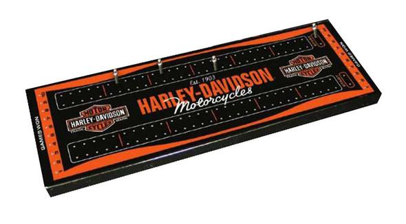 Harley-Davidson Traditional Bar & Shield Cribbage Board 66922 - Wisconsin Harley-Davidson