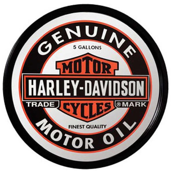 Harley-Davidson Genuine Oil Can Mirror HDL-15216 - Wisconsin Harley-Davidson