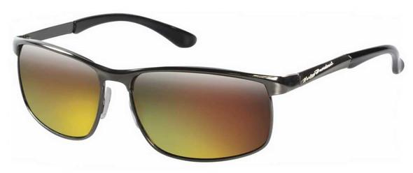 Harley-Davidson Mens Sunglasses, HD Script, Brown Len/Gray Frame HDS 620 GUN-83F - Wisconsin Harley-Davidson