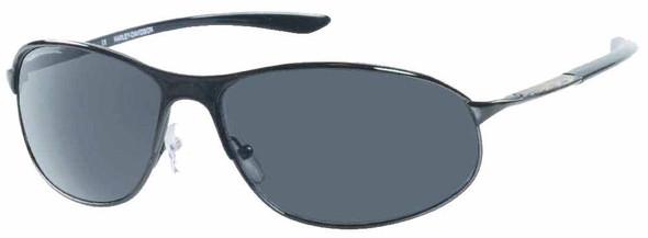 Harley-Davidson Mens Lifestyle Sunglasses Gun Metal, Dark Grey Lens HDS612GUN-3 - Wisconsin Harley-Davidson