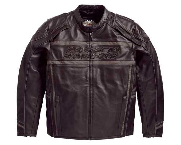 Harley-Davidson Men's Leather Jacket, Luminator 360 Black Jacket 98013-10VM - Wisconsin Harley-Davidson