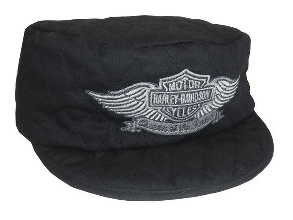 Harley-Davidson Women's Welder's Cap, Queen Of The Road, Black WC1202305 - Wisconsin Harley-Davidson