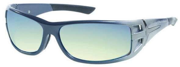Harley-Davidson Men's Denim Rectangle Grey Lens Sunglasses HDS615BLGRY-3F - Wisconsin Harley-Davidson
