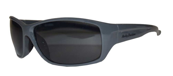 Harley-Davidson Mens Sunglasses, H-D Script, Gray Frame/Gray Lens HDV017-GRY-3 - Wisconsin Harley-Davidson