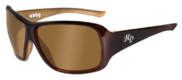 Harley-Davidson Abby Bronze Lens w/ Espresso Frame Sunglasses HDABB01 - Wisconsin Harley-Davidson