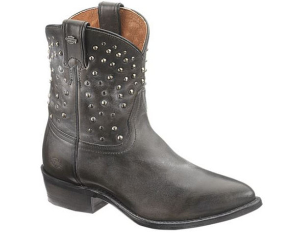 Harley-Davidson Women's Kira 7-Inch Western Boots. Black or Brown D83698 D83699 - Wisconsin Harley-Davidson