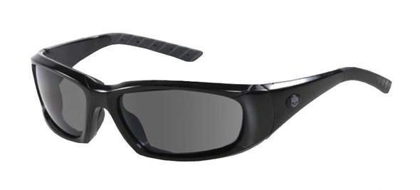 Harley-Davidson Men's Control Performance Sunglasses, Willie G Skull HDSZ711BLK3 - Wisconsin Harley-Davidson