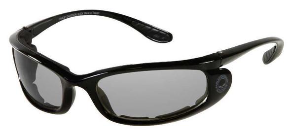 Harley-Davidson Men's Black Skull Comfort Fit Performance Sunglasses HDS803BLK-3 - Wisconsin Harley-Davidson