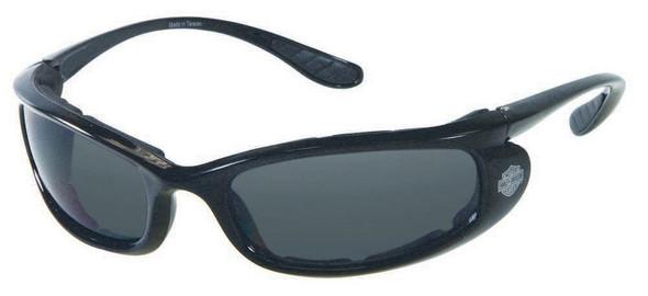 Harley-Davidson Men's Performance Stick Sunglasses BLK/Gray Lens HDSZ702BLK-3 - Wisconsin Harley-Davidson