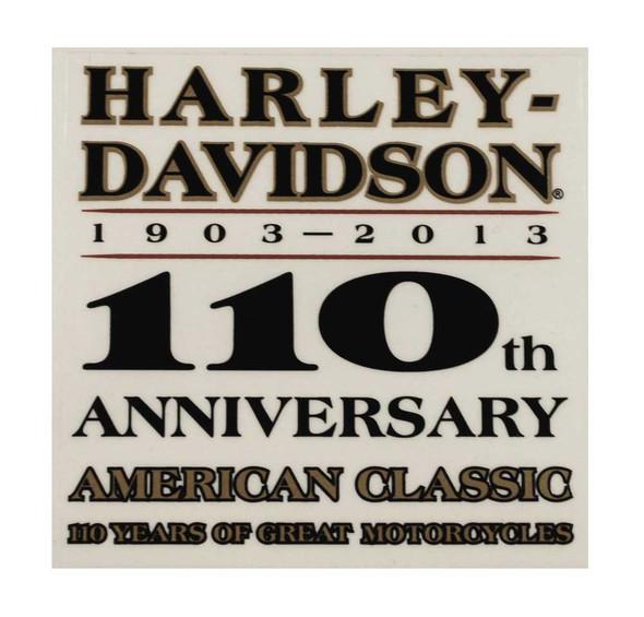 Harley-Davidson 110th Anniversary Window Cling DC1282772 - Wisconsin Harley-Davidson
