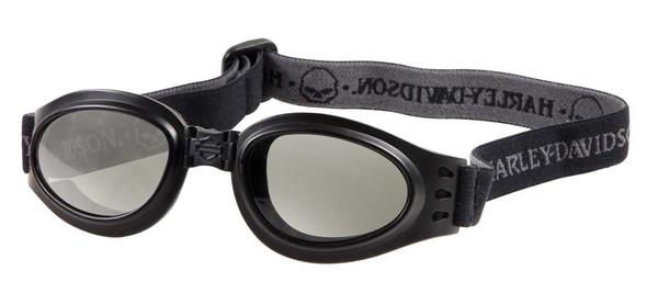 Harley-Davidson Men's Black Frame Gray Lens Sunglasses Goggles HDS806BLK-3 - Wisconsin Harley-Davidson
