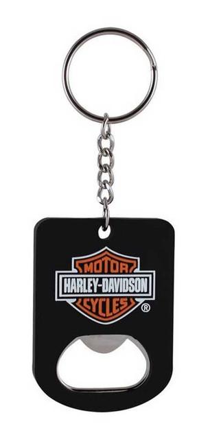 Harley-Davidson Bar & Shield Bottle Opener Key Chain KY30230 - Wisconsin Harley-Davidson