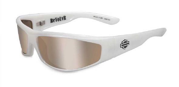 Harley-Davidson Revolvr Bronze Flash Lens Pearl Frame Frame Sunglasses HDREV3 - Wisconsin Harley-Davidson