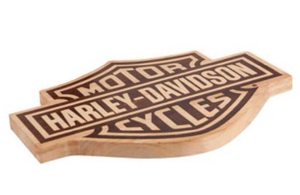 Harley-Davidson Bar & Shield Wood Cutting Board HDL-18520 - Wisconsin Harley-Davidson