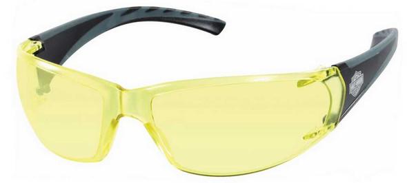 Harley-Davidson Mens Sunglasses, Bar & Shield Black/Yellow Lens HDVZ 101 YLW-15 - Wisconsin Harley-Davidson