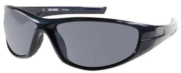 Harley-Davidson Men's Sun Lifestyle Wrap Teal w/Grey Lens Sunglasses HDS554TL-3F - Wisconsin Harley-Davidson