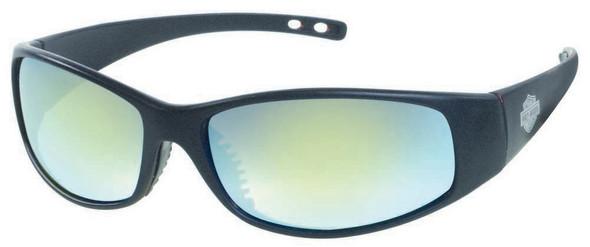 Harley-Davidson Men's Matte Black Wide Grey Lens Sunglasses HDS617BLK-3F - Wisconsin Harley-Davidson