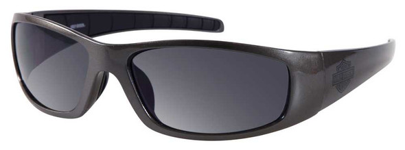 Harley-Davidson Men's Sun Lifestyle Gunmetal w/Grey Lens Sunglasses HDS602GUN-3 - Wisconsin Harley-Davidson